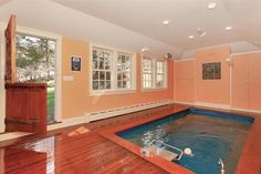 Endless Pools are perfect for old homes, install virtually anywhere indoors with limited to no modification to the existing structure. Check out this beautiful installation in a 1820's Colonial  www.endlesspools.com