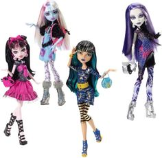 new fashion assortment abbey draculaura cleo and spectra