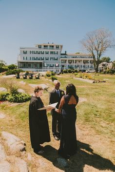 Charity and Brian's $760 Seaside Massachusetts Inn Elopement