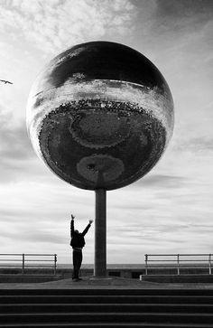 Blackpools disco ball