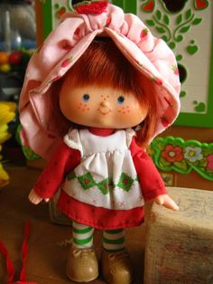 Strawberry Shortcake EVERYTHING!! Loved her :)
