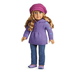 American Girl® Clothing: Casual Chic Outfit + Charm