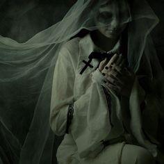 Nunsploitation, via Jaroslaw Datta † #nun #female #model #nunshabit #religiousiconography #nunsploitation #JaroslawDatta