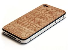 wood + type + iPhone??? OH!!
