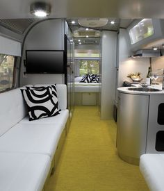 Architect Christopher C. Deam, Dwell founder Lara Deam's husband, designed Airstream's travel trailer, the International Sterling.