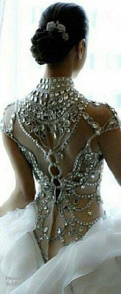 Bringing sexy backs - crystal sparkle darling