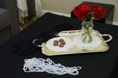 Nested Development: How to throw a 1920's party - Decorations