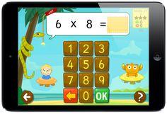 Juego de la serpiente para practicar multiplicaciones y divisiones en español
