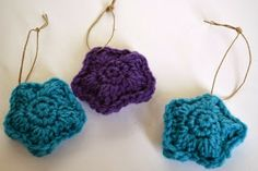 Crochet Dynamite: Scented Star Ornaments