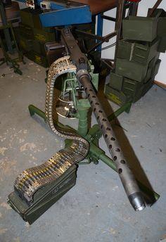 Browning .50 cal Machine Gun.