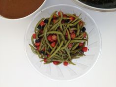 Green Bean and Cherry Tomato Salad, Wholeliving.com #lunchbunch #vegetarian