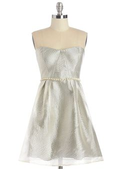 Do As You Dream Dress in Silver