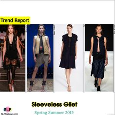 Sleeveless Gilet Trend for Spring Summer 2015. Givenchy, Reed Krakoff, TSE, and Rag and Bone #Spring2015 #SS15 #Jacket