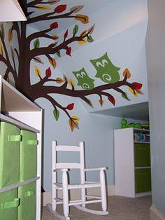 Under stairs playroom!