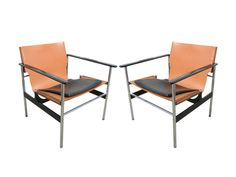 Machine Age | Pair of Sling Lounge Chairs 657 by Charles Pollock for Knoll
