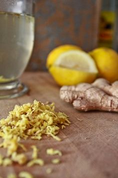 19 Remedies Using Hot Lemon Water & Ginger- this super remedy will soothe a upset stomach, clear a throat infection and lower blood pressure.