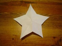 Betsy Ross' One Cut Five Point Star