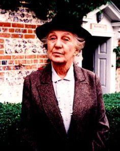 Miss Marple from Agatha Christie novels