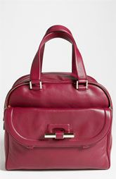 Jimmy Choo 'Justine - Large' Calfskin Leather Satchel