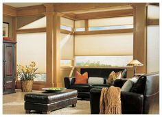 Honeycombed cellular #shades allow light in & insulate #windows from cold! www.budgetblinds.com/glenallen