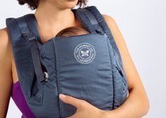 Honest Organic Cotton Baby Carrier | Collaboration with Beco #organic #cotton #baby