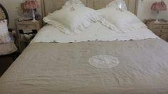 linge de maison charme ancien on pinterest toile de jouy shabby and sons. Black Bedroom Furniture Sets. Home Design Ideas
