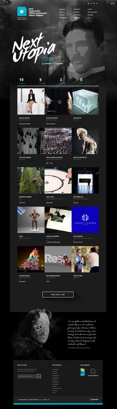 webdesign, web design, festivals, web ddddesign, beauti websit, design inspir, websit design, dcafein websit, kikk