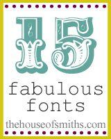 craft, houses, decorating blogs, decorating ideas, fabul font, smith, 15 fabul, design blogs, fonts
