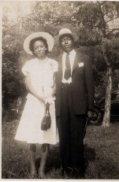 vintag black, circa 1940s