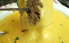 Beer cheese fondue in your crock pot! Perfect for parties!