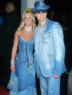 "As Justin Timberlake prepares himself for Jimmy Kimmel Live tonight, do you think he is pondering wearing a ""Canadian Tuxedo,"" aka the denim-on-denim outfit he wore to the 2001 American Music Awards?"