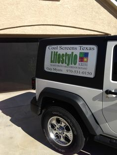 It's getting warmer. Time for a Lifestyle garage door screen from Cool Screens Texas 970-531-0150 coolscreenstexas@hotmail.com