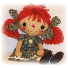 Sewing Autumn Rag Doll Soft Toy Cloth picture 31557