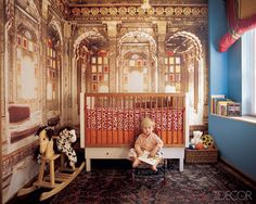 The most amazing Indian inspired kid's room pinned from minipiccolini.com