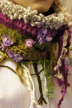 neck scarf.  Great colors