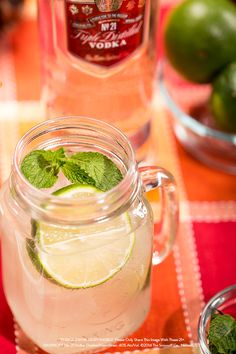 The Moscow Mule- a flavorful drink, originally created with Smirnoff and easily recreated by everyone!  Just take 1.5 oz of Smirnoff No. 21 Vodka, 2 oz of ginger beer, .25 oz of lime juice and garnish with mint. Cheers!