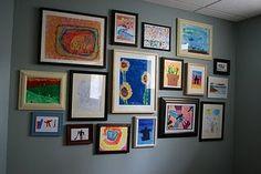 Children's wall of art