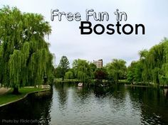 Free activities in Boston, MA for families.  Pin this now so you'll have it when you are ready to visit!