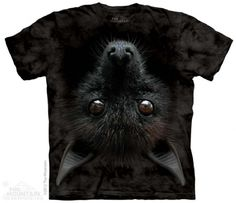 Bat Head T-Shirt at theBIGzoo.com, a toy store featuring 3,000+ stuffed animals.
