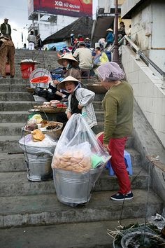 street food, Dalat, Vietnam