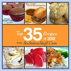 Six Sisters' Stuff: The Top 35 Recipes of 2012 from Six Sisters' Stuff
