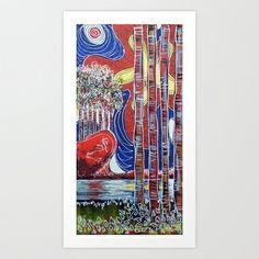 The Island Art Print by Laura Hol Art - $14.50