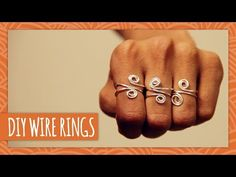 DIY Coiled Wire Ring - HGTV Handmade (+playlist)