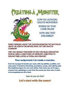creative writing vocabulary list