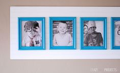 Cute and easy way to decorate with pictures