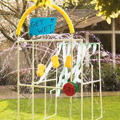 Fun sprinkler!