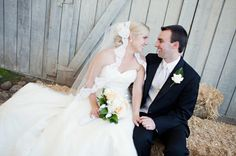 {Real Wedding} Vanessa & Scott: California Rustic Garden Wedding - Oh Lovely Day