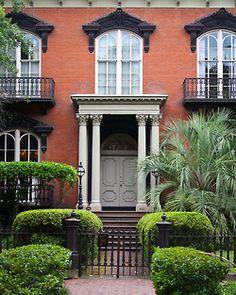 georgiangentility:  Mercer House, circa 1868 Savannah, GA