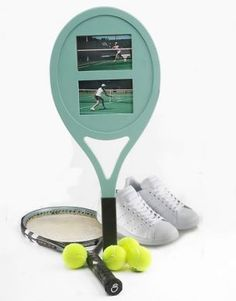 Tennis Racket Photo Frame