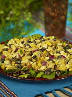 An energizing recipe we created for #mexican inspired Chicken #Salad!